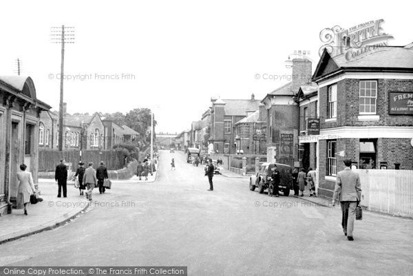 Photo of Ashford, Station Road c.1950