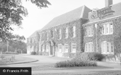 Ashford, The County School 1950
