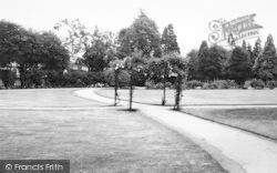 Ashford, The Memorial Gardens c.1960