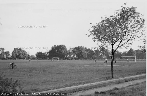 Photo of Ashford, The Recreation Ground 1950