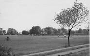 Ashford, The Recreation Ground 1950