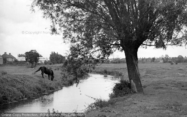 Photo of Ashford, The River Stour c.1950