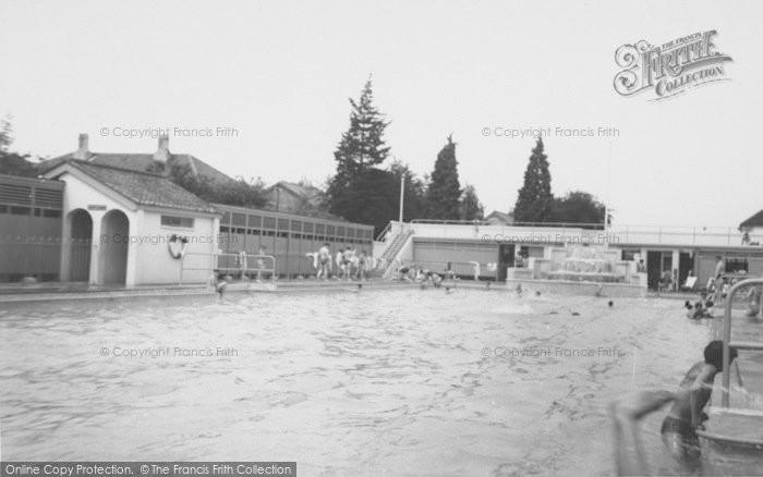 Photo of Ashford, The Swimming Pool 1962