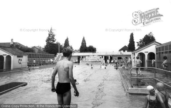 Photo of Ashford, The Swimming Pool 1962
