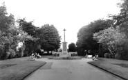 Ashford, The War Memorial c.1960