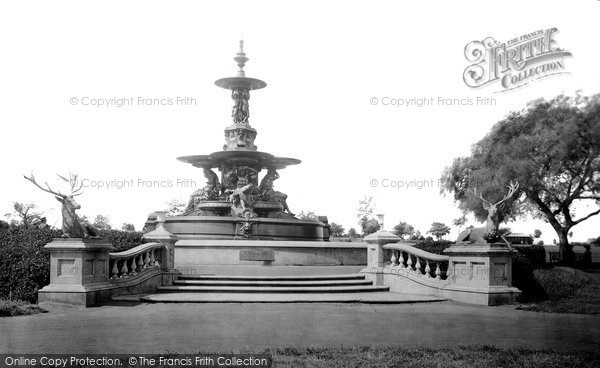 Photo of Ashford, Victoria Park Fountain 1921