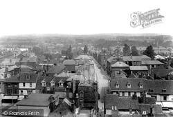 Ashford, View From Church 1901