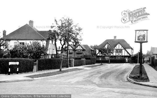 Photo of Ashford, Village Way 1954