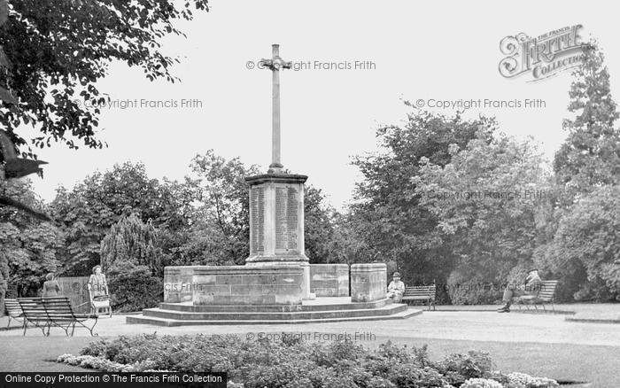 Photo of Ashford, War Memorial c.1950