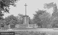 Ashford, War Memorial c.1950
