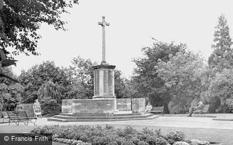 Ashford, War Memorial c1950