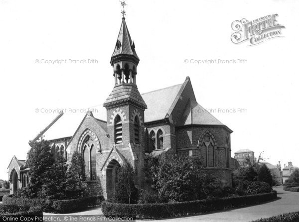Photo of Ashford, West London Schools Chapel 1895