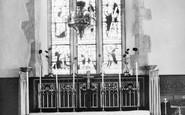 Ashingdon, Church Interior c.1955