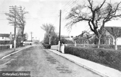 Ashingdon, Main Road c.1939