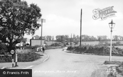 Ashingdon, Main Road c.1955