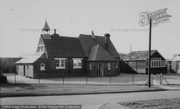 Photo of Ashingdon, School c.1960