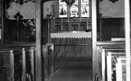 Ashingdon, St Andrew's Church Interior c.1960