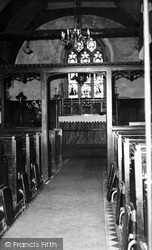 Ashingdon, St Andrew's Church Interior c.1960