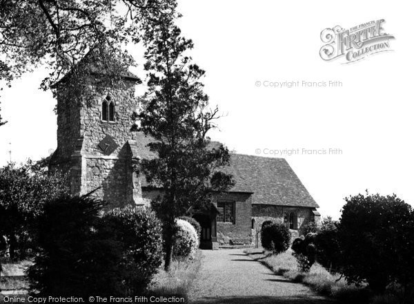 Photo of Ashingdon, St Andrew's Minster c.1955