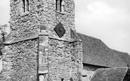 Ashingdon, The Church c.1955