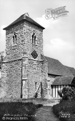 Ashingdon, The Church c.1955