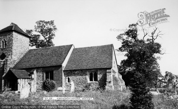 Photo of Ashingdon, The Church c.1960