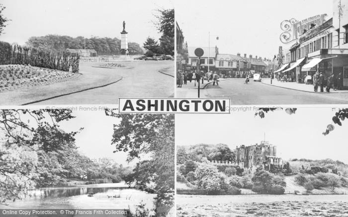 Photo of Ashington, Composite c.1955