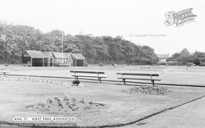 Photo of Ashington, Hirst Park c.1955
