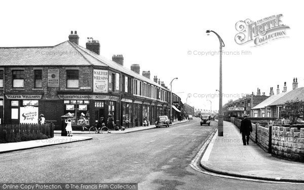Photo of Ashington, Milburn Road c1955, ref. A224022