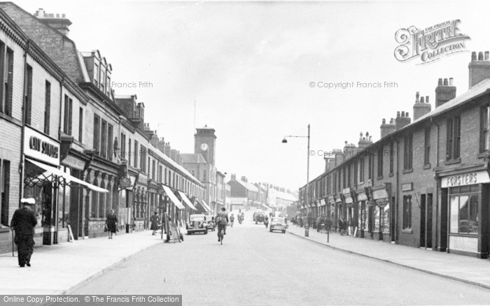 Photo of Ashington, Station Road c.1955