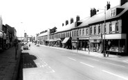 Ashington, Station Road c1960