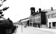Ashington, Station Road c.1960