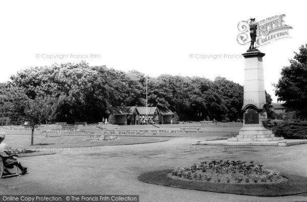 Photo of Ashington, The Park c.1960