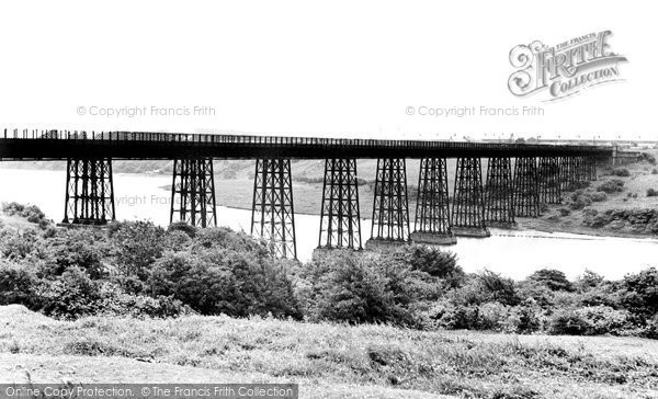 Photo of Ashington, the Viaduct c1955, ref. A224001