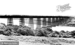 Ashington, The Viaduct c.1955