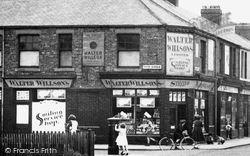 Ashington, Village Shop, Milburn Road c.1955