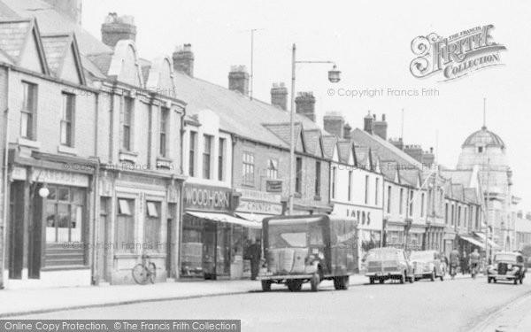 Photo of Ashington, Woodhorn Road c.1955