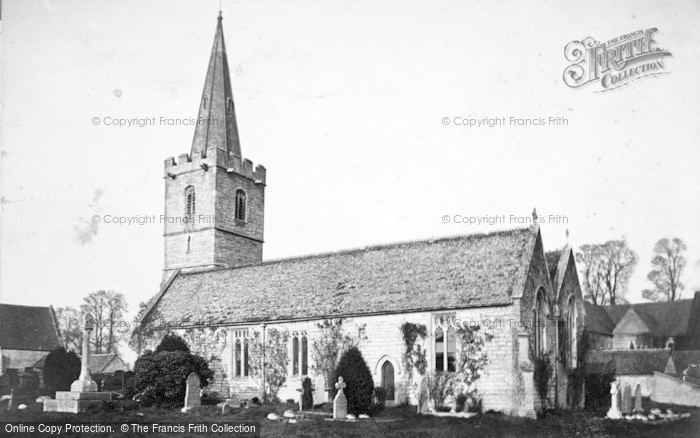 Photo of Ashleworth, Church 1914