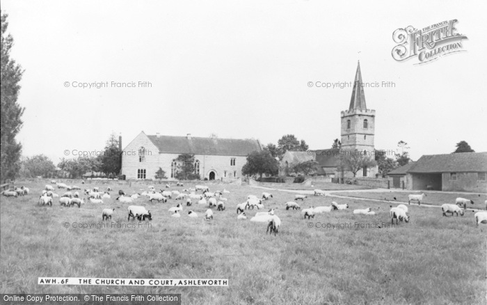 Photo of Ashleworth, Church And Court c.1960
