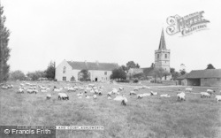 Ashleworth, Church And Court c.1960