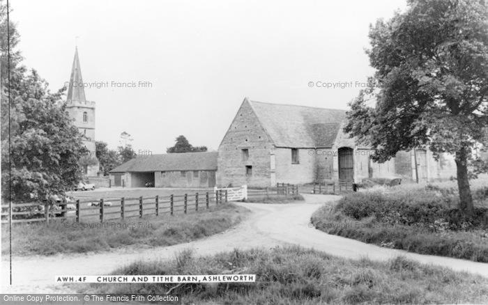 Photo of Ashleworth, Church And Tithe Barn c.1960