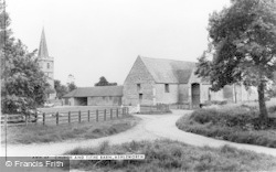 Ashleworth, Church And Tithe Barn c.1960