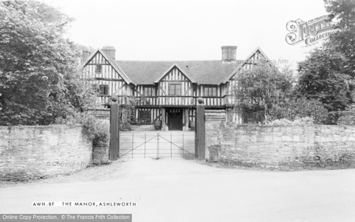 Photo of Ashleworth, Manor c.1960