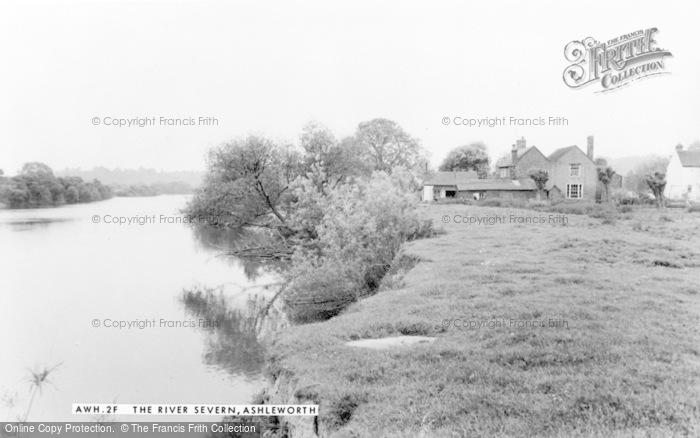 Photo of Ashleworth, The River Severn c.1960