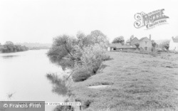 Ashleworth, The River Severn c.1960