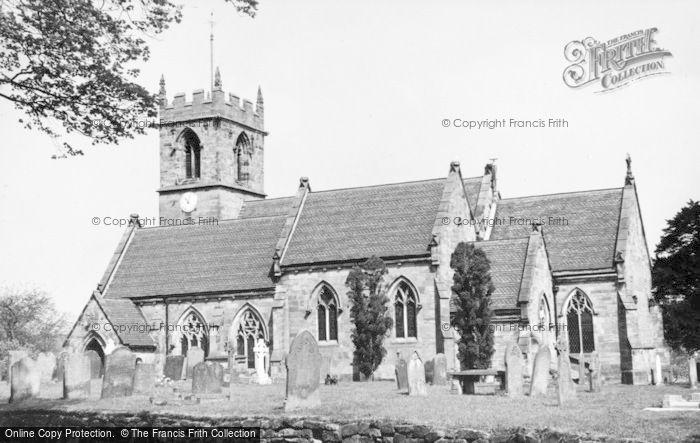 Photo of Ashley, St John The Baptist's Church c.1930