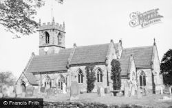 Ashley, St John The Baptist's Church c.1930