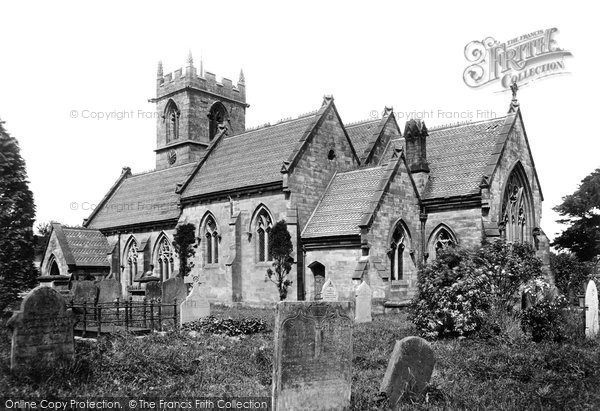Ashley, St John The Baptist's Church, South East 1898