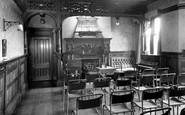 Ashover, Eastwood Grange Conference Room c.1955