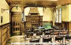 Eastwood Grange Conference Room c.1955, Ashover